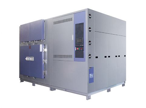 Large three-slot thermal shock test chamber