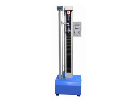 Microcomputer tensile testing machine