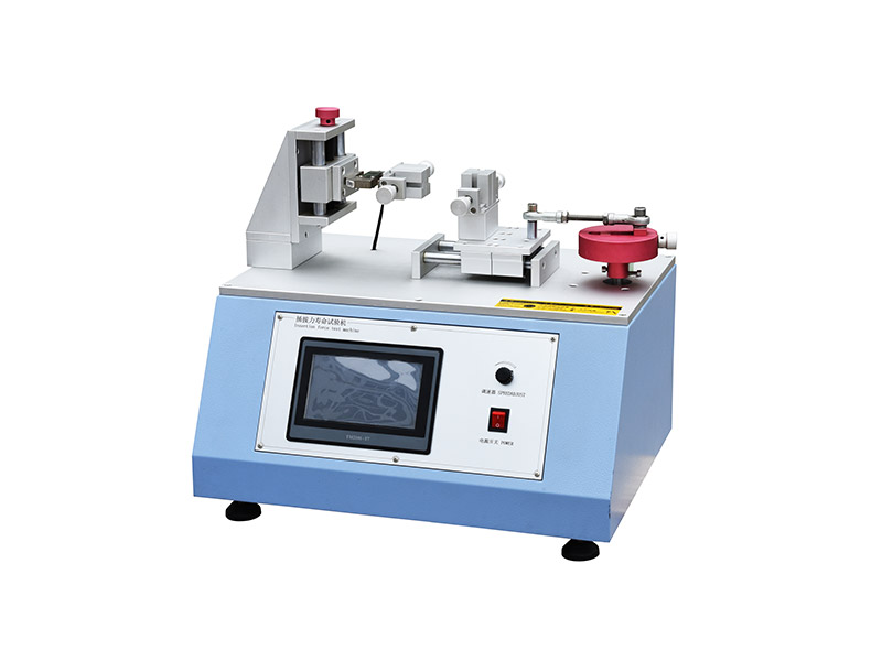 Horizontal insertion force testing machine